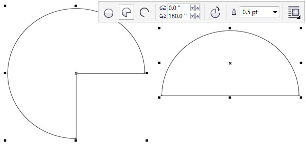 Change the shape of an ellipse easily