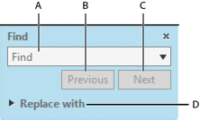 Find Toolbar in Acrobat
