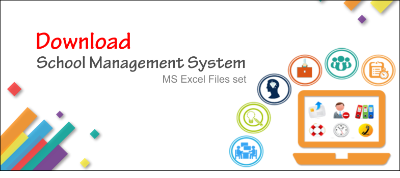 School Management System - MS Excel Files | DW Faisalabad