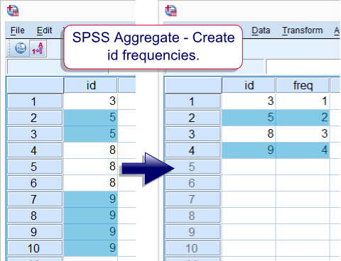 SPSS Aggregate